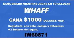 ganar dinero con whaff