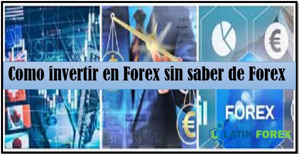 Invertir en forex sin broker