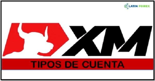 Tipos de cuentas de trading en XM