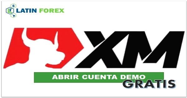 Registro cuenta XM demo