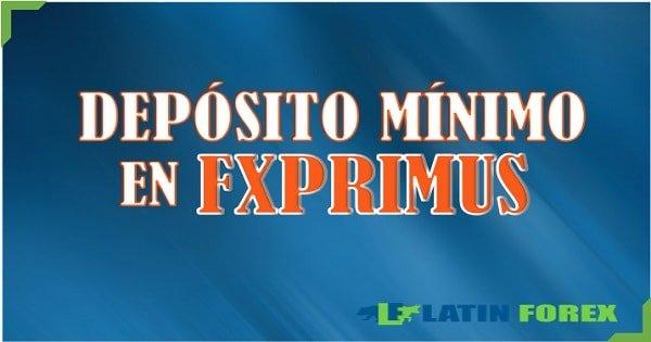 deposito fxprimus
