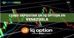 como depositar en iq option