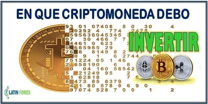En que criptomonedas invertir hoy