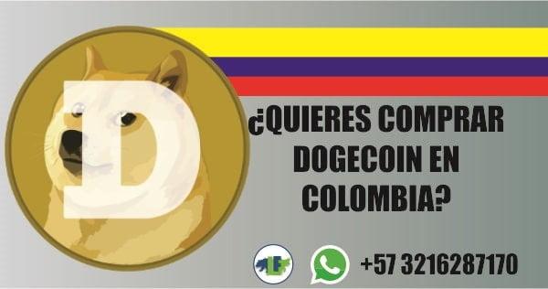 Comprar dogecoin en Colombia