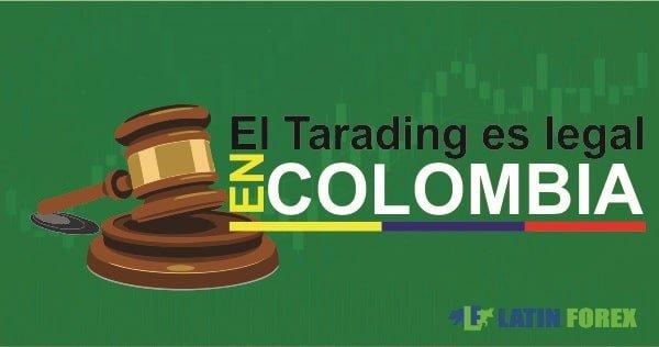 el trading es legal en Colombia-min
